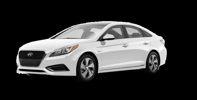 2017 Hyundai Sonata Hybrid LIMITED | Photo 6 | White