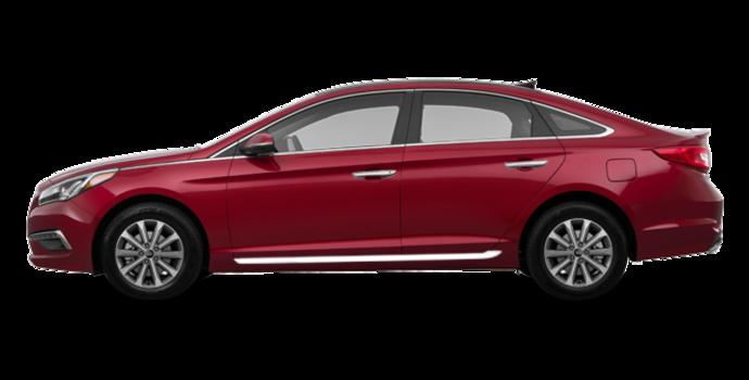 2017 Hyundai Sonata LIMITED | Photo 4 | Venetian Red