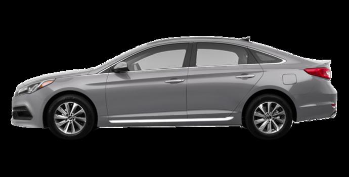 2017 Hyundai Sonata SPORT TECH   Photo 4   Platinum Silver