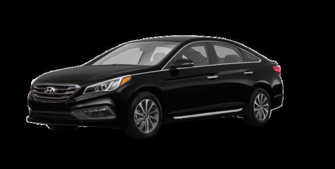 2017 Hyundai Sonata SPORT TECH   Photo 6   Black Pearl
