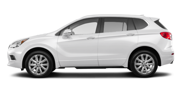 2018 Buick Envision Premium II | Photo 4 | Summit White