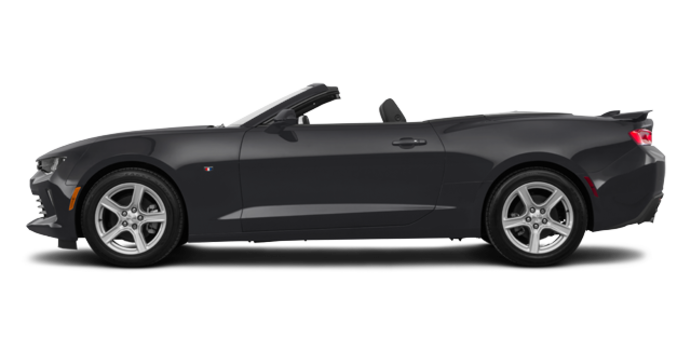2018 Chevrolet Camaro convertible 2LT   Photo 4   Nightfall Grey Metallic