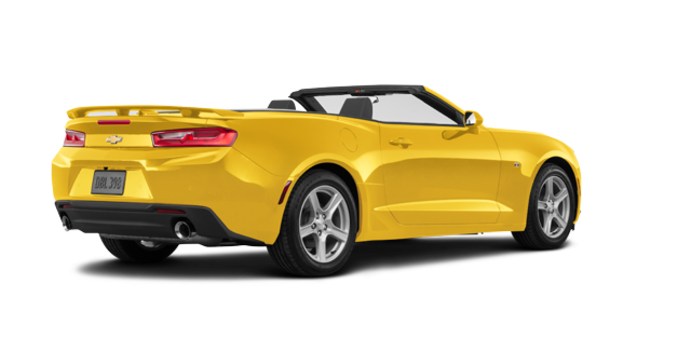 2018 Chevrolet Camaro convertible 2LT   Photo 5   Bright Yellow