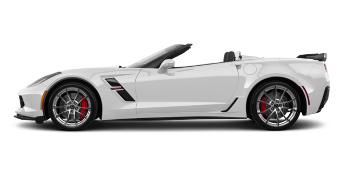 2018 Chevrolet Corvette Convertible Grand Sport 1LT | Photo 4 | Arctic White