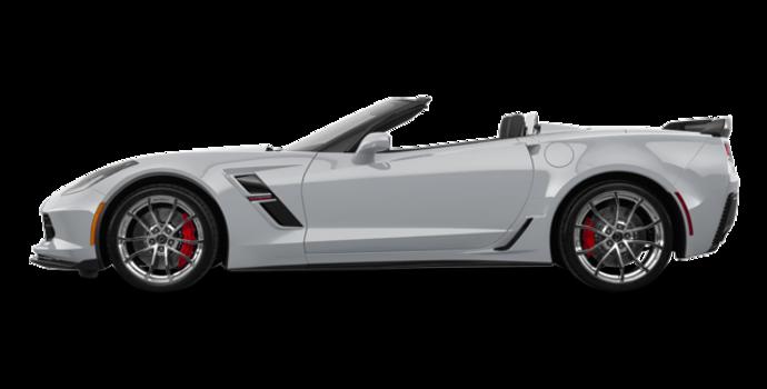 2018 Chevrolet Corvette Convertible Grand Sport 3LT   Photo 4   Blade Silver Metallic