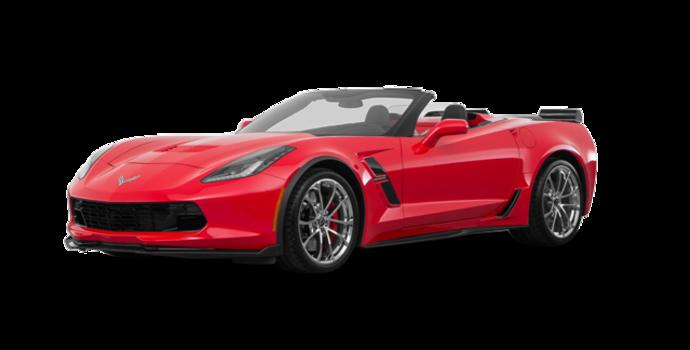 2018 Chevrolet Corvette Convertible Grand Sport 3LT   Photo 6   Torch Red