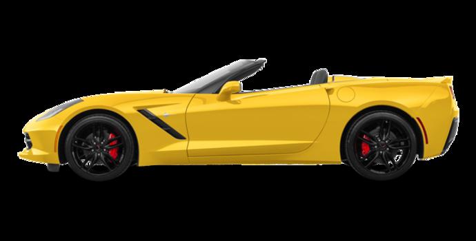 2018 Chevrolet Corvette Convertible Stingray Z51 1LT | Photo 4 | Corvette Racing Yellow Tintcoat
