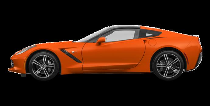 2018 Chevrolet Corvette Coupe Stingray 3LT | Photo 4 | Sebring Orange Tintcoat