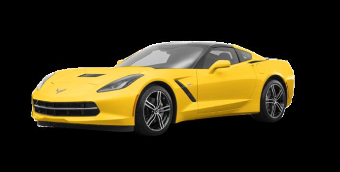 2018 Chevrolet Corvette Coupe Stingray 3LT | Photo 6 | Corvette Racing Yellow Tintcoat