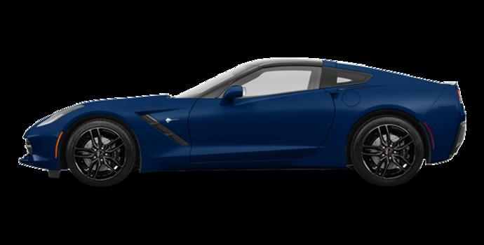 2018 Chevrolet Corvette Coupe Stingray Z51 1LT | Photo 4 | Admiral Blue Metallic