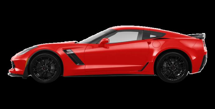 2018 Chevrolet Corvette Coupe Z06 1LZ   Photo 4   Torch Red