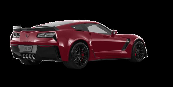 2018 Chevrolet Corvette Coupe Z06 1LZ   Photo 5   Long Beach Red Metallic Tintcoat