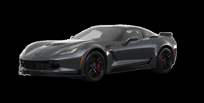 2018 Chevrolet Corvette Coupe Z06 1LZ   Photo 6   Watkins Glen Grey Metallic
