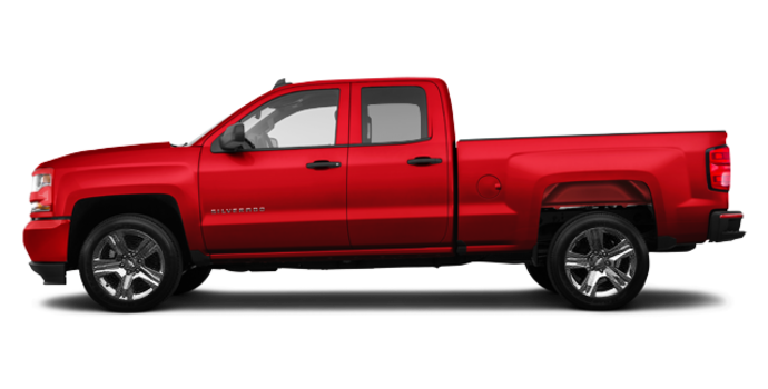 2018 Chevrolet Silverado 1500 CUSTOM | Photo 4 | Red Hot