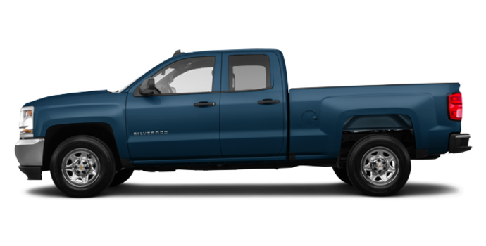 2018 Chevrolet Silverado 1500 LS   Photo 4   Deep Ocean Blue Metallic