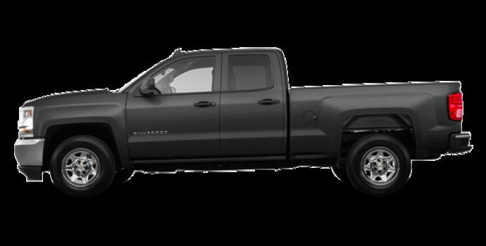 2018 Chevrolet Silverado 1500 LS   Photo 4   Graphite Metallic