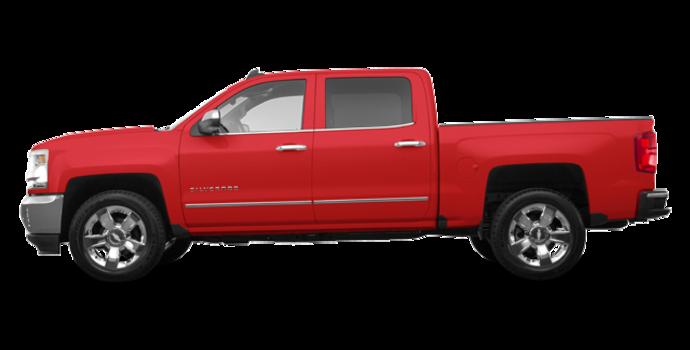 2018 Chevrolet Silverado 1500 LTZ 1LZ   Photo 4   Red Hot