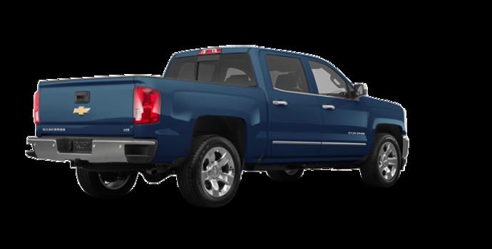 2018 Chevrolet Silverado 1500 LTZ 1LZ   Photo 5   Deep Ocean Blue Metallic