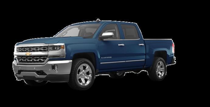 2018 Chevrolet Silverado 1500 LTZ 1LZ   Photo 6   Deep Ocean Blue Metallic