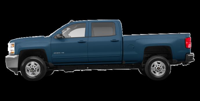 2018 Chevrolet Silverado 2500HD LT | Photo 4 | Deep Ocean Blue Metallic