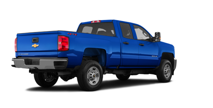 2018 Chevrolet Silverado 2500HD WT   Photo 5   Deep Ocean Blue Metallic