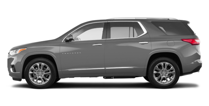 2018 Chevrolet Traverse PREMIER   Photo 4   Satin steel metallic