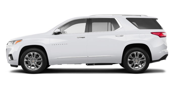 2018 Chevrolet Traverse PREMIER   Photo 4   Summit White