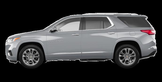 2018 Chevrolet Traverse PREMIER   Photo 4   Silver Ice Metallic