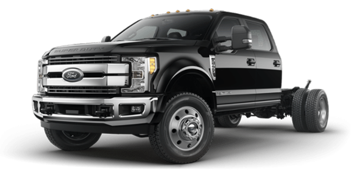 2018 Ford Chassis Cab F-450 LARIAT | Photo 4 | Shadow Black