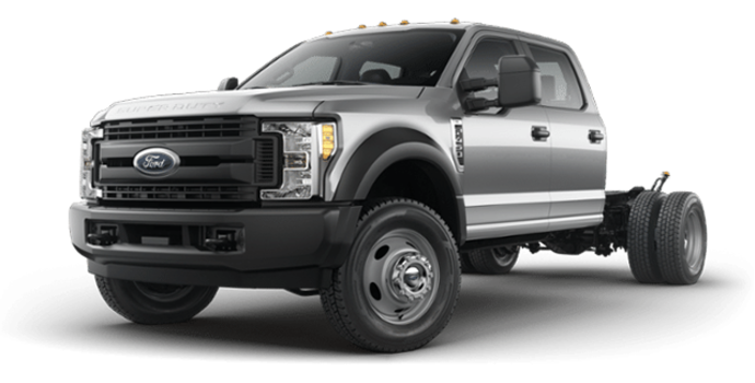 2018 Ford Chassis Cab F-450 XL   Photo 4   Ingot Silver