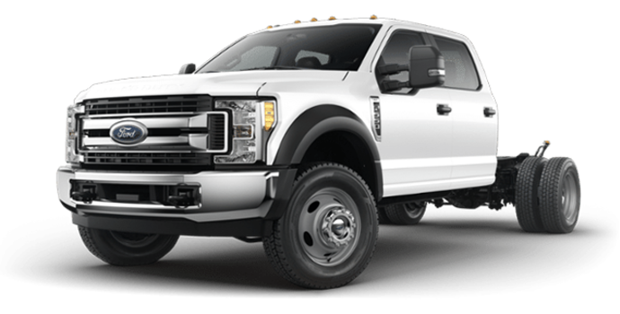 2018 Ford Chassis Cab F-550 XLT | Photo 4 | Oxford White
