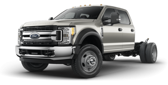 2018 Ford Chassis Cab F-550 XLT | Photo 4 | Stone Gray