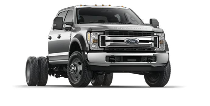 2018 Ford Chassis Cab F-550 XLT | Photo 6 | Ingot Silver