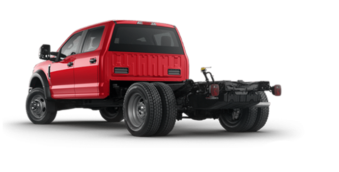 2018 Ford Chassis Cab F-550 XLT | Photo 5 | Race Red
