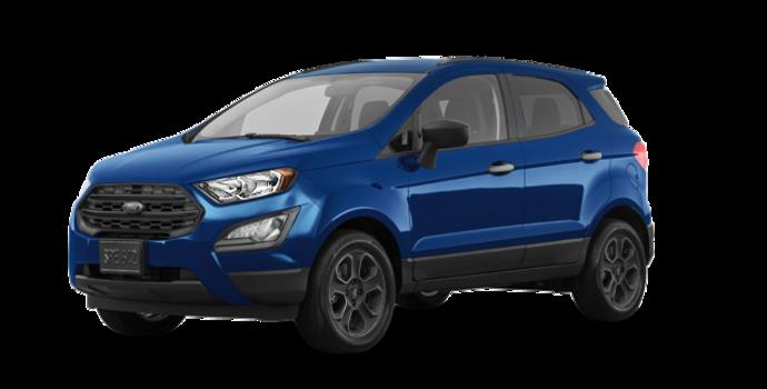 2018 Ford Ecosport S   Photo 6   Lightning Blue