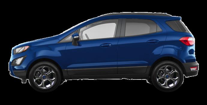2018 Ford Ecosport SES   Photo 4   Lightning Blue