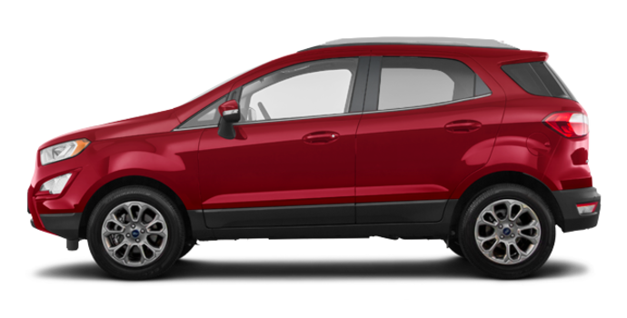 2018 Ford Ecosport TITANIUM | Photo 4 | Ruby Red Metallic