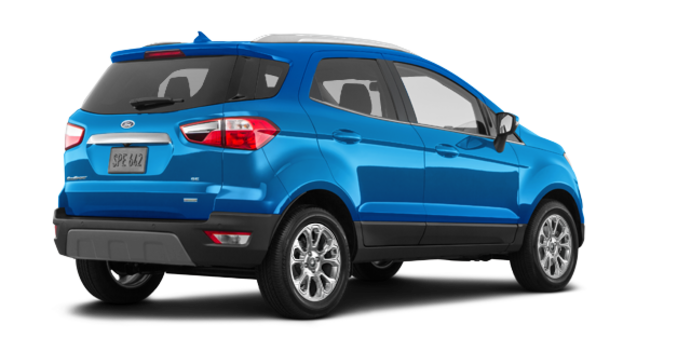 2018 Ford Ecosport TITANIUM | Photo 5 | Blue Candy Metallic