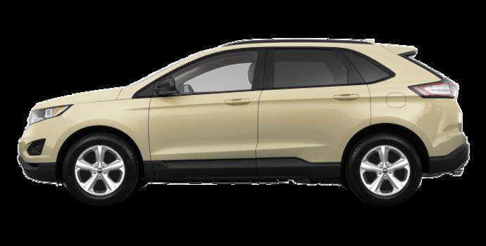 2018 Ford Edge SE   Photo 4   White Gold