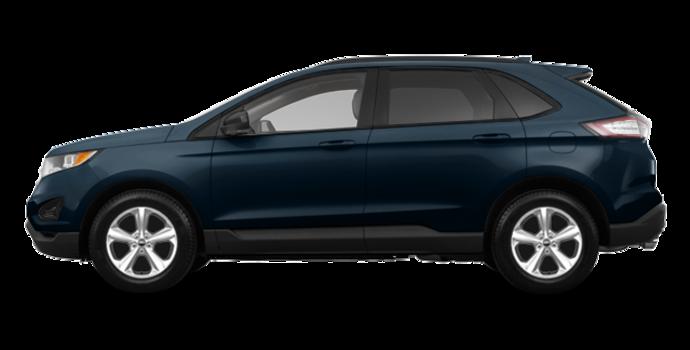 2018 Ford Edge SE   Photo 4   blue metallic