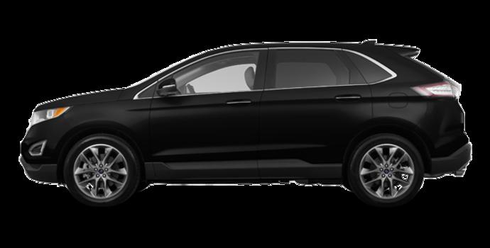 2018 Ford Edge TITANIUM   Photo 4   Shadow Black