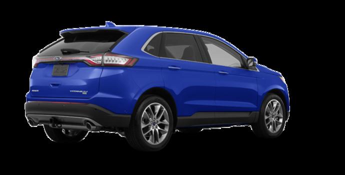 2018 Ford Edge TITANIUM   Photo 5   Lightning Blue