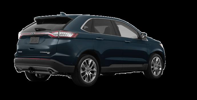2018 Ford Edge TITANIUM   Photo 5   blue metallic