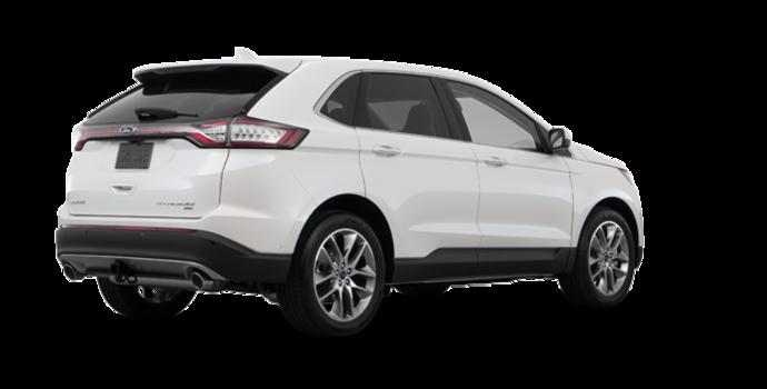 2018 Ford Edge TITANIUM   Photo 5   White Platinum Metallic Tri-Coat