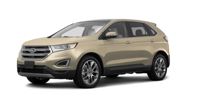 2018 Ford Edge TITANIUM   Photo 6   White Gold