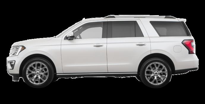 2018 Ford Expedition LIMITED | Photo 4 | White Platinum Metallic Tri-Coat