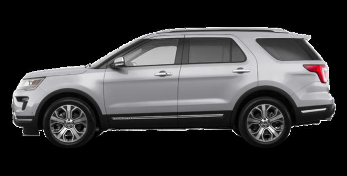 2018 Ford Explorer PLATINUM | Photo 4 | Ingot Silver Metallic