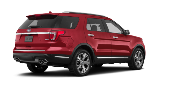 2018 Ford Explorer PLATINUM | Photo 5 | Ruby Red Metallic