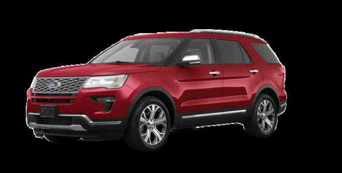 2018 Ford Explorer PLATINUM | Photo 6 | Ruby Red Metallic