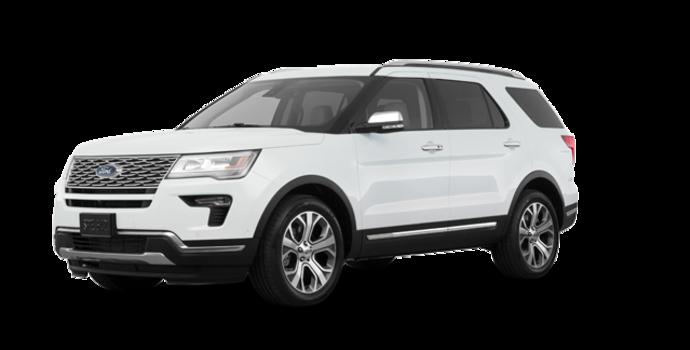 2018 Ford Explorer PLATINUM | Photo 6 | White Platinum Metallic